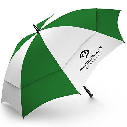 Procella Golf Regenschirm, 157 cm groß, sturmsicher, automatisch zu öffnen, Regen- und Windresistent