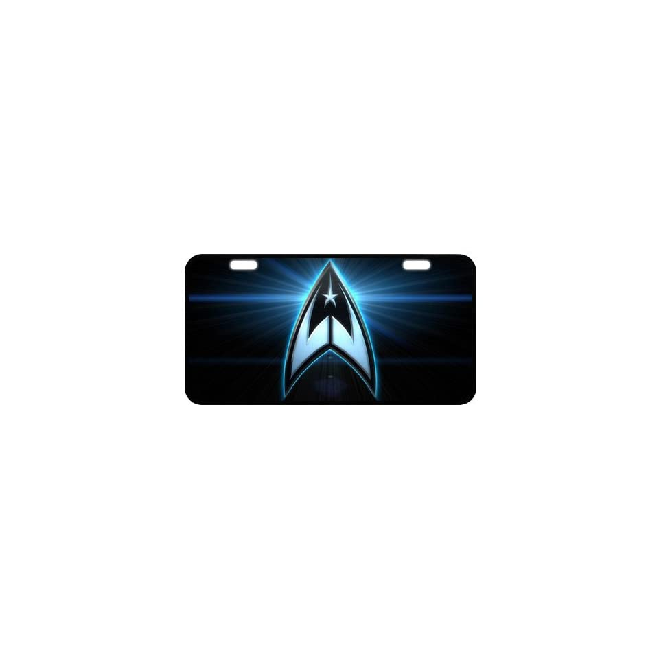 Star Trek Metal License Plate Frame LP 862