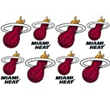 NBA Miami Heat Peel and Stick Tattoo Set
