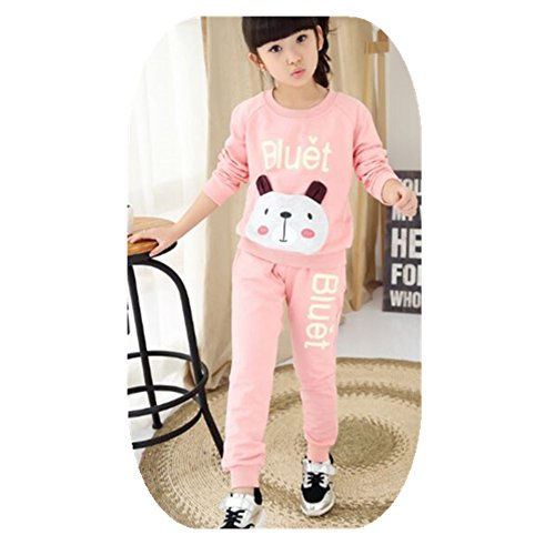 ftsucq-girls-crew-neck-cartoon-pullover-sports-two-pieces-set160
