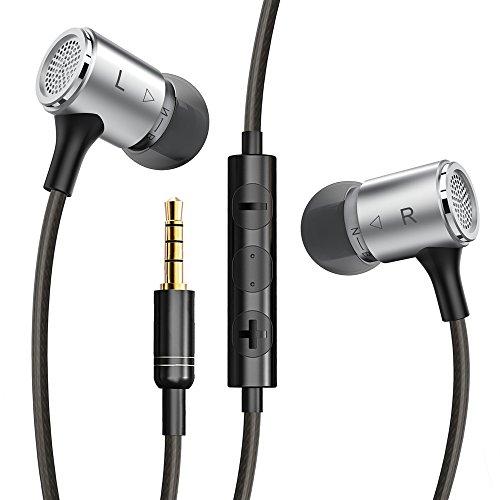 VAVAカナル型イヤホン ステレオヘッドホン ios/androidでコントロール対応可能 高音質サウンド EQモード マイク内蔵 ハンドフリー通話可能 VAVA VA-EP001