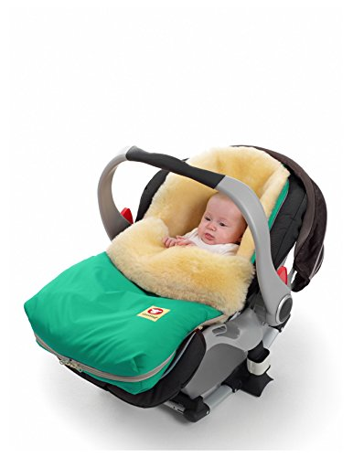 Fareskind Baby Go Cozy Sheepskin Bunting Bag - 1