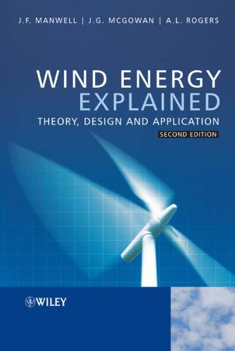 Wind Energy Explained: Theory, Design and Application - Wiley - 0470015004 - ISBN:0470015004