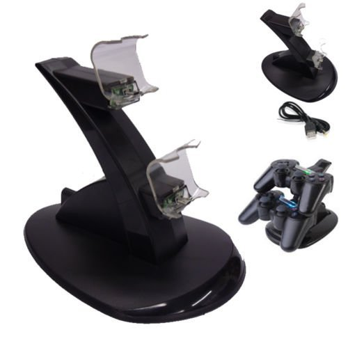 Xett Multimedia Ps4 Dual Controller Charger Stand For Playstation 4