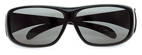 Coleman(コールマン) サングラス メガネの上から偏光サングラス オーバーグラス CO3012-1