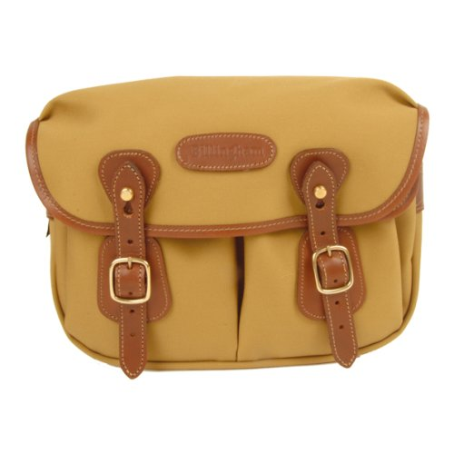Billingham Hadley Small Canvas Camera Bag With Tan Leather Trim - Khaki