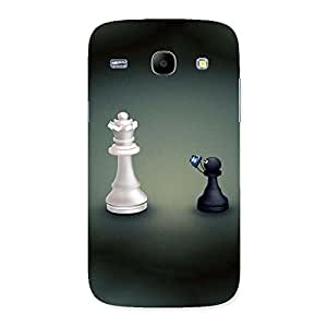 Delighted Pawn Click King Back Case Cover for Galaxy Core