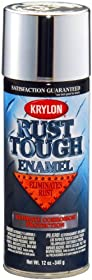 Krylon RTA9232 'Rust Tough' Silver Metallic Rust Preventive Enamel - 12 oz. Aerosol