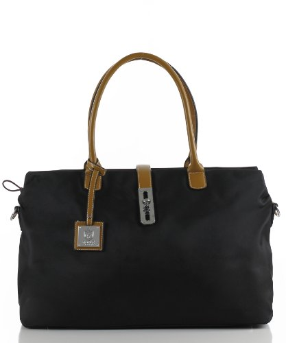 Noble Mount Oversized 'Arizzo' Handbag – Black