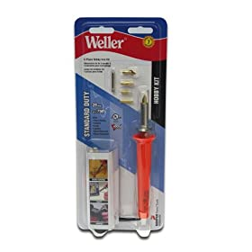 Weller WSB25HK 25-Watt Short Barrel Hobby Iron Kit, 8-Piece