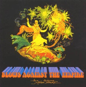 Original album cover of Blows Against the Empire by Paul Kantner & Jefferson Starship
