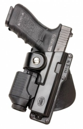 Fobus Tactical Speed Holster Paddle GLT19 Glock 19 23 32  S W 99 Compact M P Compact holds Handgun with LaserB0000C53QF