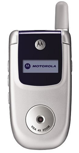Motorola V220 Unlocked Cell Phone--U.S. Version with Warranty (Silver)