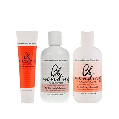 Bb Usura E La Cura Rammendo Trioleina Shampoo, Balsamo E Maschera (Confezione da 2)