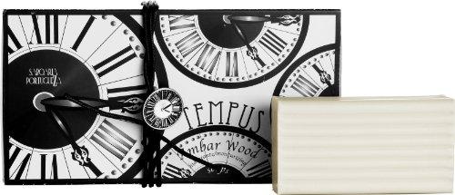 《사보아리아》 템프《스》/tempus soap 세트3×180g 엠버 우드