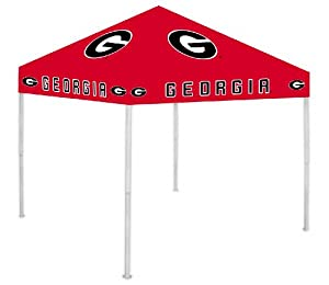 NCAA Georgia Bulldogs Canopy, Red by Rivalry