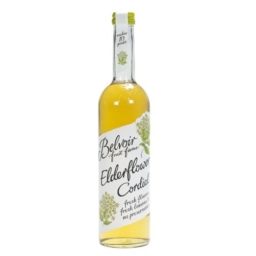 belvoir elderflower cordial case of 6x500ml fast cordials are popular ...