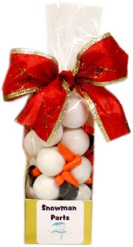 Snowman Parts Candy Assortment