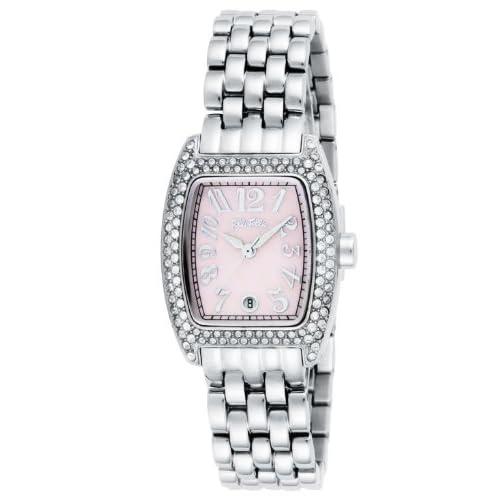 [フォリフォリ]FOLLI FOLLIE 腕時計 ピンクパール文字盤 デイト WF5T081BZP レディース 【並行輸入品】