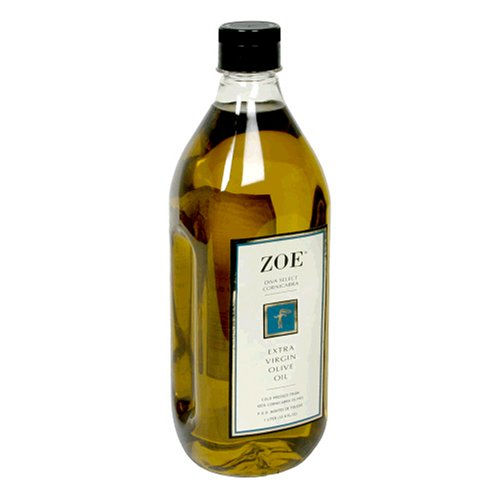 Zoe Brand Diva Select 100% Cornicabra Extra Virgin Olive Oil, 1-Liter Jug (Pack of 2)