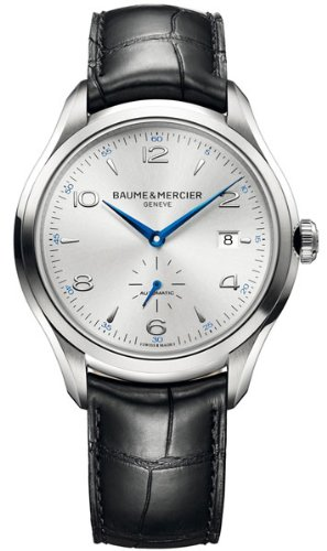 Baume & Mercier Men's BMMOA10052 Clifton Analog Display Swiss Automatic Black Watch