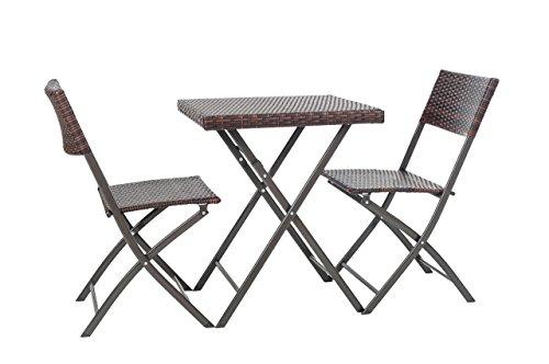 Balkon-Garnitur-aus-Polyrattan-3-teilig-Gartenset-Sitzgruppe-Bistro-Balkon-Mbel-Garnitur