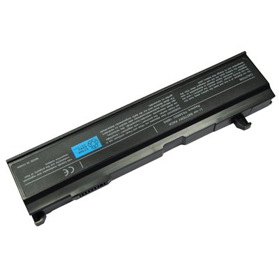 Laptop/Notebook Battery for Toshiba Satellite A100-S8111TD(with Intel Celeron CPU) - 6 cells 4400mAh Black