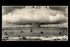 Amazon.com: 1946 US NUCLEAR TESTING OVER PACIFIC OCEAN POSTER marshall