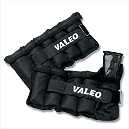 Valeo AW5 5-Pound Adjustable Ankle / Wrist Weights
