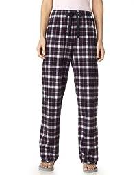 Boxercraft Adult Team Pride Flannel Pants (Black/Pink) (X-Large)
