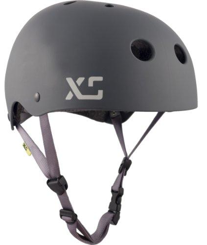 XS Helmets Classic Skate Helmet, Matte Charcoal, X-Small/Small