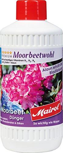 Mairol Moorbeet-Dünger Moorbeetwohl Liquid 500 ml