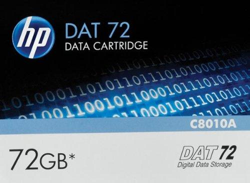 "HP 1/8 inch Tape DDS Data Cartridge - 1/8"" DAT 72 Cartridge,"