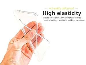 Elate High Quality High Elasticity Transparent Tpu Soft Back Cover For Apple Iphone 6g