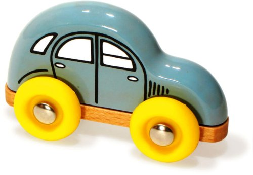 Vilac Push and Pull Baby Toy, 2CV Wood Car, Mini
