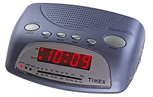 timex t234l nature sounds alarm clock radio blue electronics. Black Bedroom Furniture Sets. Home Design Ideas