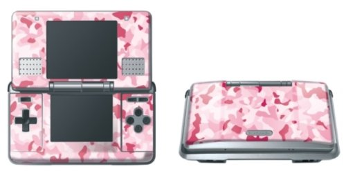 Pebble Entertainment Pink Camo Graphic Skin (Nintendo DS)