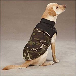 Step In Camo Dog Vest - Dog Camouflage gifts