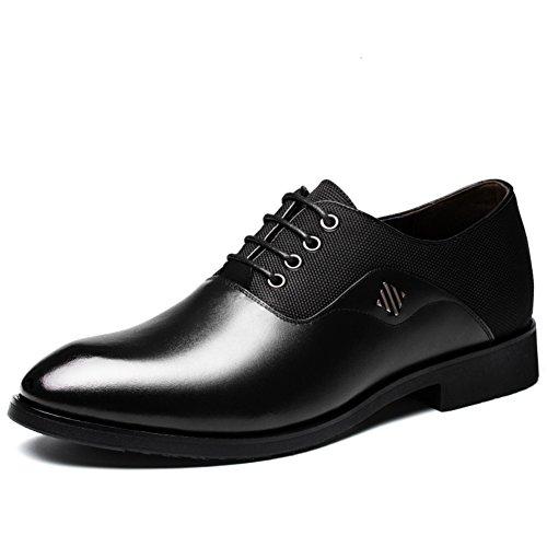 Scarpe da uomo/Scarpe da uomo/scarpe casual Inghilterra tondo vestito in pelle traspirante di business-A Lunghezza piede=24.3CM(9.6Inch)