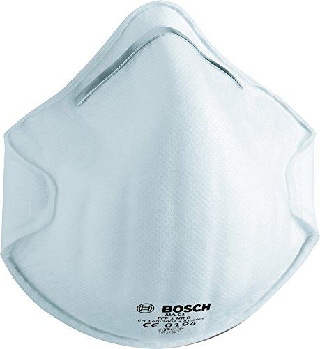 Bosch 3 pz., Maschera protettiva MA C1, 2607990089
