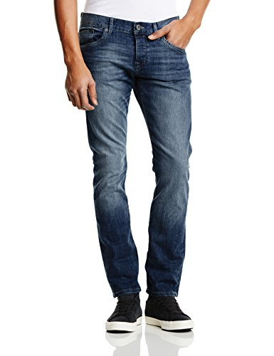 edc by ESPRIT - Slim Fit 025Cc2B024, Jeans da uomo, blu (azul (blue medium wash)), W34/ L34