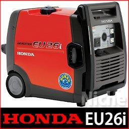 【新品・オイル充填試運転済】HONDA発電機 ≪EU26iJN≫ インバーター発電機