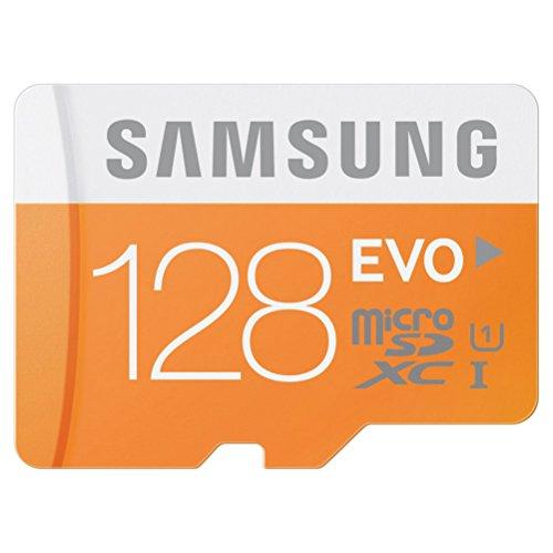 microSDカード 128GB SAMSUNG EVO Class10 UHS-I対応 (最大転送速度48MB/s) 10年保証 MB-MP128D/FFP 【日本サムスン正規品】
