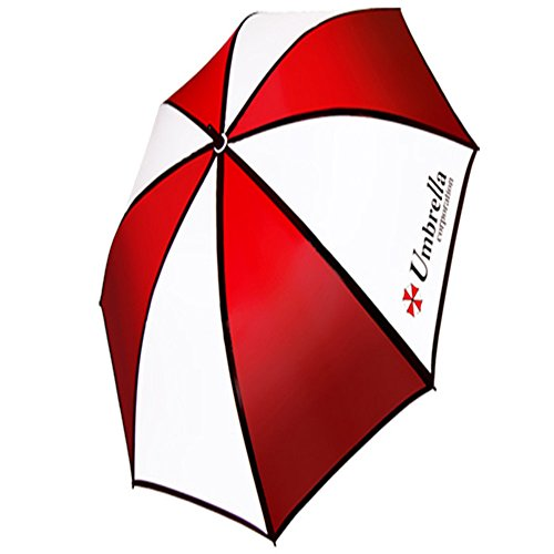 Premium Resident Evil Umbrella Corporation nylon impermeabile ombrelli rossi