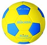 ミカサ サッカーボール スマイルサッカー軽量3号 キッズ用 150g 小学校/キッズ用 SF3-YBL