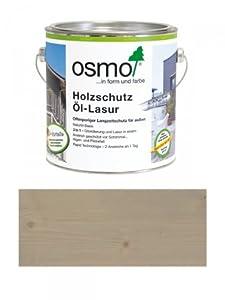 OSMO Holzschutz ÖlLasur Effekt 2,5L Quarzsilber 1141  BaumarktÜberprüfung und weitere Informationen