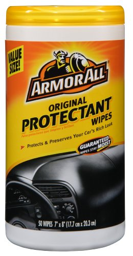 Armor All 10834 Protectant Wipe - 50 Sheets