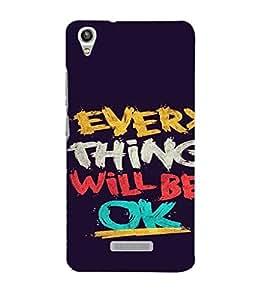 EPICCASE Things will be ok Mobile Back Case Cover For Lava Pixel V1 (Designer Case)