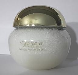 Premier Dead Sea Aromatherapy Mineral Body Treatment, Gold Cap, Salt Scrub, 425-Grams
