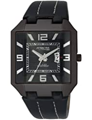 Q&Q Analog Watch - For Men (Black)